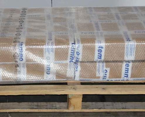 Imballaggio prodotti su pallet