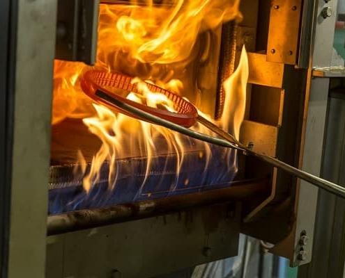 Trattamenti termici lame coltelli industriali